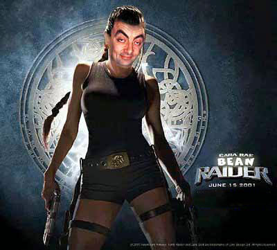 Tomb Raider with Mr. Bean