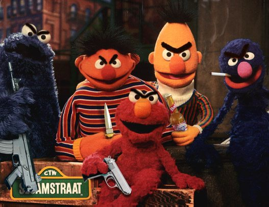 Sesame Street Gone Bad!