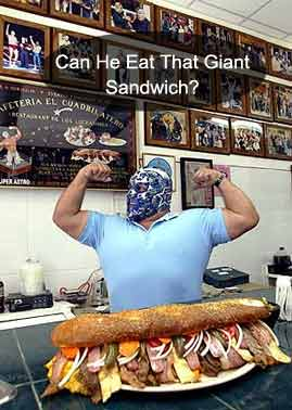 Can You Eat The Giant Sandwich?