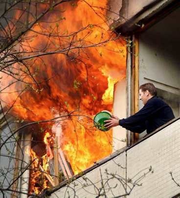 How To Put A Fire Out