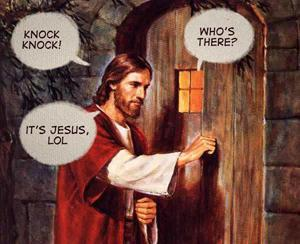 Knock Knock Whos There?