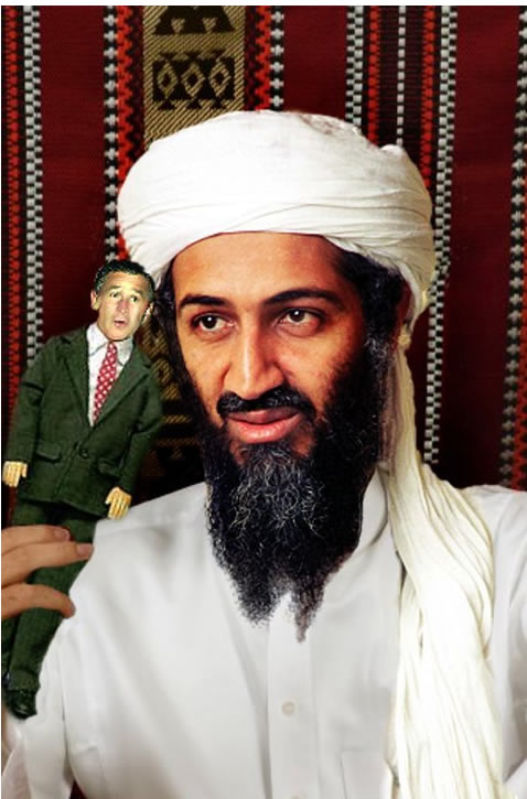 Osama Plays With Dolls