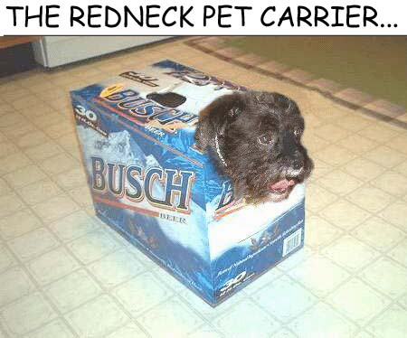 Redneck Pet Carrier