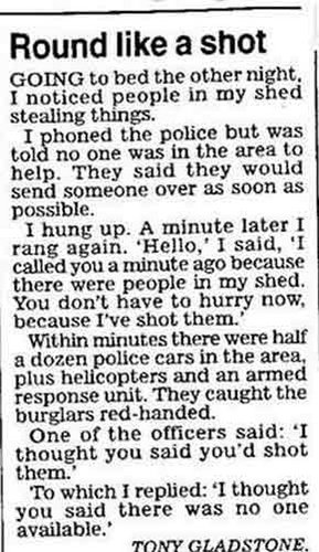 Police In The News