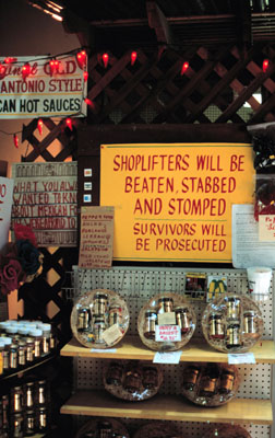 Why not to shoplift