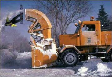 Snow Blower Accident