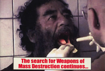 Search for WMDs